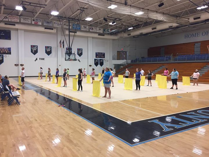 Great first day of guard camp today, outstanding work ladies and gent!